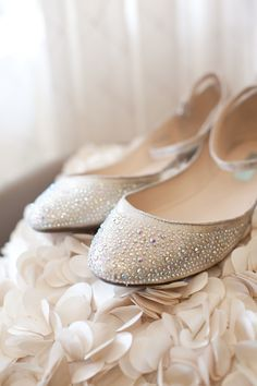 cute wedding flats from Blue by Betsy Johnson