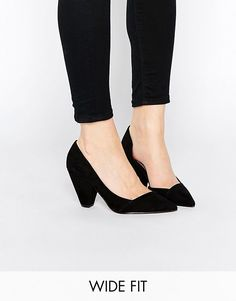 I really like this style. I'm looking for cute, fun heels and flats. (in wide width).