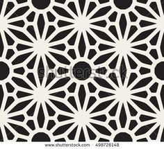 Find Vector Seamless Black White Lace Floral stock images in HD and millions of other royalty-free stock photos, illustrations and vectors in the Shutterstock collection. Geometric Mandala Tattoo, Geometric Tattoo Design, Geometric Pattern Design, Geometric Designs, Geometric Shapes, Muster Tattoos, Islamic Patterns, Black Pattern, Simple Pattern