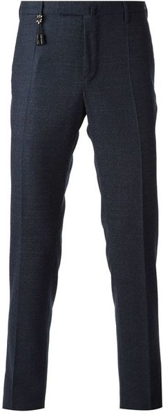 $335, Incotex Slim Fit Trousers. Sold by farfetch.com. Click for more info: https://lookastic.com/men/shop_items/329507/redirect