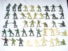 soldados de plastico