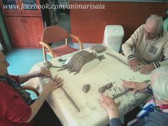 """Colombini - Ceramic lab. RSA """"La Risaia"""" - nursing home - www.facebook.com/animarisaia #rsa #casa di riposo"""