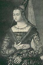 Marguerite d'Écosse (1424-1445) née à Perth et morte à Chalons en Champagne. En 1428, son père Jacques 1° accepte de marier Marguerite, âgée de 5 ans, avec le dauphin Louis, futur Louis XI. Cependant Jacques ayant obtenu que sa fille ne se rende pas en France avant d'être plus âgée, le mariage n'est célébré que le 24 juin 1436 au chateau de Tours.