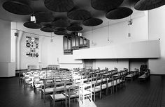 Stephanus Parish Community Centre | Detmeroder, Germany | Alvar Aalto | Photo by Heinrich Heidersberger