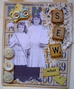 Sew What? Bingo Card Collage