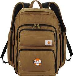 Carhartt Signature Standard Work Laptop / MacBook Waterproof Backpack - New Backpack With Wheels, Backpack For Teens, Backpack Bags, Tote Bag, Computer Backpack, Waterproof Backpack, Girl Backpacks, Branded Bags, North Face Backpack