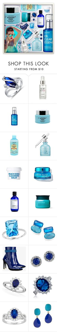 """Blue Belle"" by beanpod ❤ liked on Polyvore featuring beauty, SkinCare, Sunday Somewhere, Etude House, Bloomingdale's, Ippolita, Off-White, Effy Jewelry, Allurez and Bling Jewelry"
