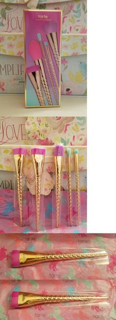 Other Makeup: Tarte Make Believe In Yourself Unicorn Brush Set Authentic Fairytale Collection -> BUY IT NOW ONLY: $48.0 on eBay!
