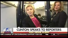 Sep 6 WATCH: Hillary Cuts Informal Press Conference Off When Asked About CNN…