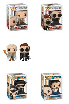 More Funko Pops are coming and #VideguyCollectibles is accepting pre-orders for them. Funko Pops for Good Omens and Eastbound & Down are coming soon. #funkopop #funko #goodomens #eastboundanddown Robots For Kids, Funko Pop, 21st