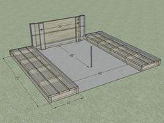 Horseshoe pit measurements