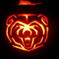 Sic 'em, Bears! (via @BUfanatic87) #Baylor #pumpkin