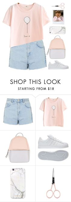 """""""Nights With You"""" by itstepna ❤ liked on Polyvore featuring Topshop, Calvin Klein, adidas, russell+hazel, Anastasia Beverly Hills, bts, taehyung and polyvorefashion"""