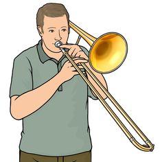 brass instrument / tenor trombone