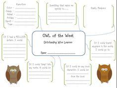 owl of the week.