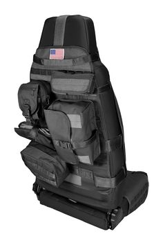 This black front cargo seat cover from Rugged Ridge fits Jeep CJ and Wrangler. Includes a Molle Pals system with 7 pouches. Jeep Cj, Acessórios Jeep Wrangler, Jeep Mods, Jeep Rubicon, Jeep Wrangler Accessories, Jeep Accessories, Jeep Grand Cherokee Accessories, Jeep Wranglers, Accessoires 4x4