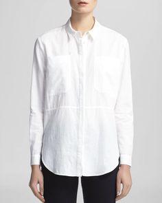 Whistles Shirt - Romy Longline Pocket