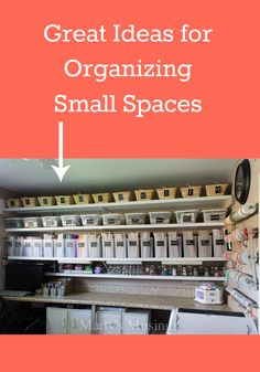 Crammed Into Your Home?Here are some organizational tips to help you!