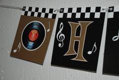 Rock N Roll banner