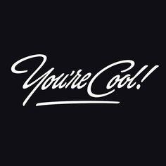 Damn right I am. Type by @anteronuutinen| #typegang - typegang.com | typegang.com #typegang #typography