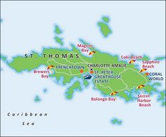 St Thomas Port Map Relax, take a break from planning the vacation, and just let C2C Travels coordinate your travels for you! We save you the time, hassles, and frustration of planning! http://2744.mtravel.com/