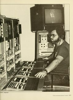 """Athena yearbook, 1984. """"The Telecommunications Center is a valuable training resource for OU students."""" #NEWT4Business"""