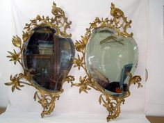 PAIR OF CORNUCOPIA. Directoire style. Beginning of 19th century.