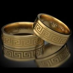 Versace Brand, Aur, Bridal Tiara, Fendi, Rings For Men, Wedding Rings, Engagement Rings, Greek, Accessories