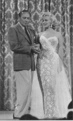 Marilyn Monroe on the Jack Benny Show 1955