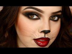 Cat Halloween Makeup 4