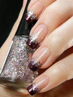 French manicure twist