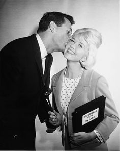 """""""Universal City voted Doris Day its 22nd mayor. Doris is shown being sworn into office by Rock, a former mayor of the 408 acre Universal City. Nov 22, 1962"""""""