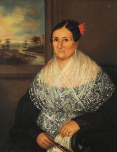 Retrato De María Josefa Ramona Herrera - García Del Molino