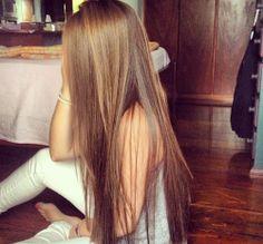 Pretty Hairstyles For Long Straight Hair Down Hairstyles, Pretty Hairstyles, Straight Hairstyles, Amazing Hairstyles, Hairstyles Haircuts, Long Hair Styles Straight, Brown Straight Hair, Famous Hairstyles, Long Thin Hair