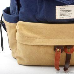 Korea Style Fashion Double Trunk Lovers Backpack | Fashion Backpacks | Fashion Bags- AtWish.Com