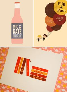 save the date illustrations