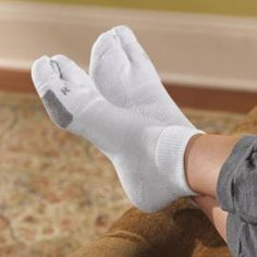 Bunion Socks, Relieve Bunion Pressure, Pain | BodyEssentials The older I get, the more attention I have to pay to my feet. Damn.