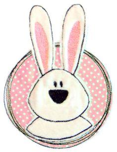 Doodle Button Hase - nicht nur für Ostern