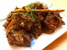 beef #rendang, Singapore - had it a few times at the local food stalls. Easier than making it myself!