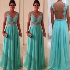 295ac129123c Tiffany blue bridesmaid dress for my wedding in a million years Prom Dresses  Blue