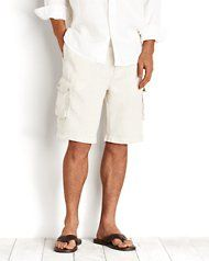 Tommy Bahama Linen Shorts--an option for the guys?