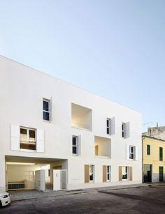 Le cabinet darchitecture RipollTizon signe des logements sociaux situés à Majorque…