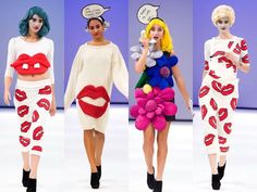 Lichtenstein Fashion