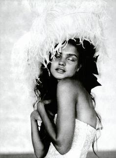 Natalia Vodianova inA Girl of Singular BeautyforVogue Italia, September 2004 Shot byPaolo Roversi Styled by Edward Enninful