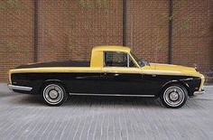 Rolls-Royce Silver Shadow Pick Up by Roadmaster2, via Flickr