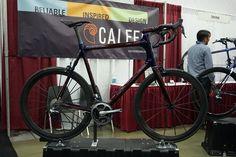 Calfee Cycles Manta custom carbon fiber road bike
