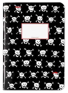 Krima & Isa - Notizheft Piraten bei www.baby-and-friends.com