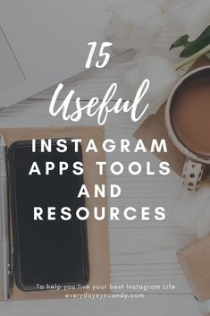 15 of the best Instagram apps, tools for video on Instagram and resources to take your Instagram Account to the next level! #instagram #instagramapps