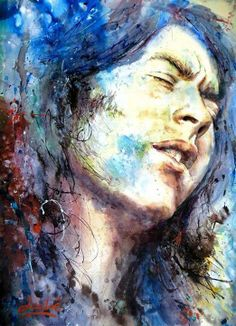 Rory Gallagher by Nicola Lautre.