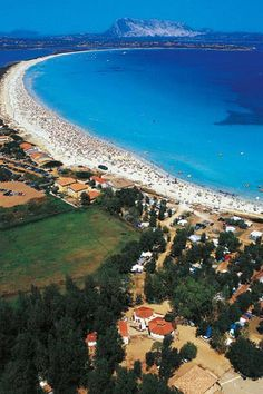 Sardiniens 3500m langer Strand La Cinta